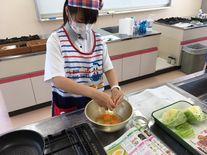 調理実習の様子