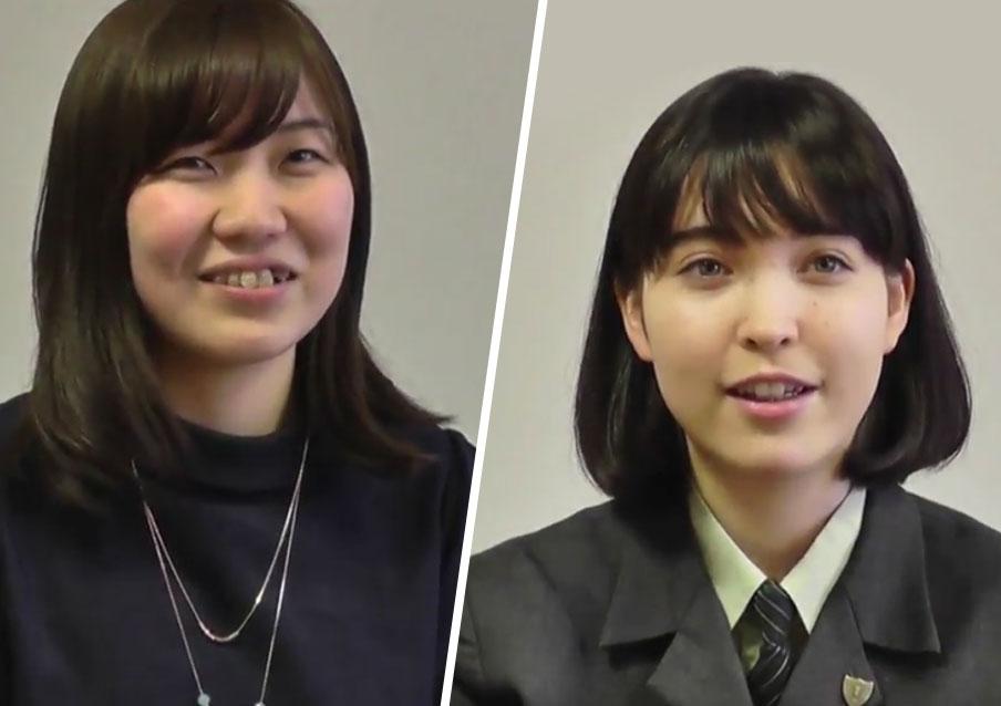 英宏中学校卒業生インタビュー動画